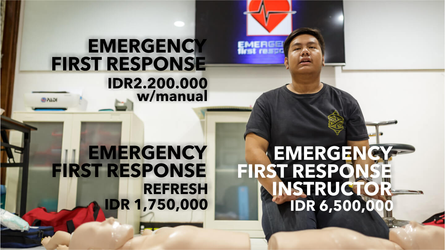 Ody Dive PADI Dive Course Emergency First Response
