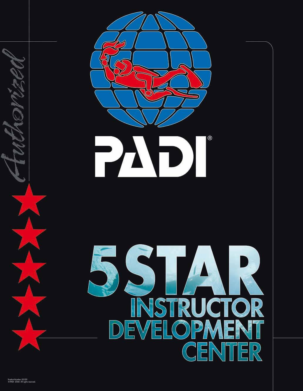 PADI 5 Star Instructure Development Center