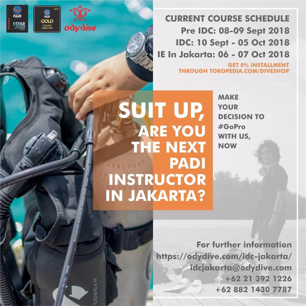 ODY Dive IDC Jakarta